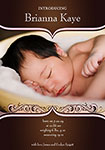 boy birth announcement collage