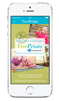 FreePrints pour iPhone
