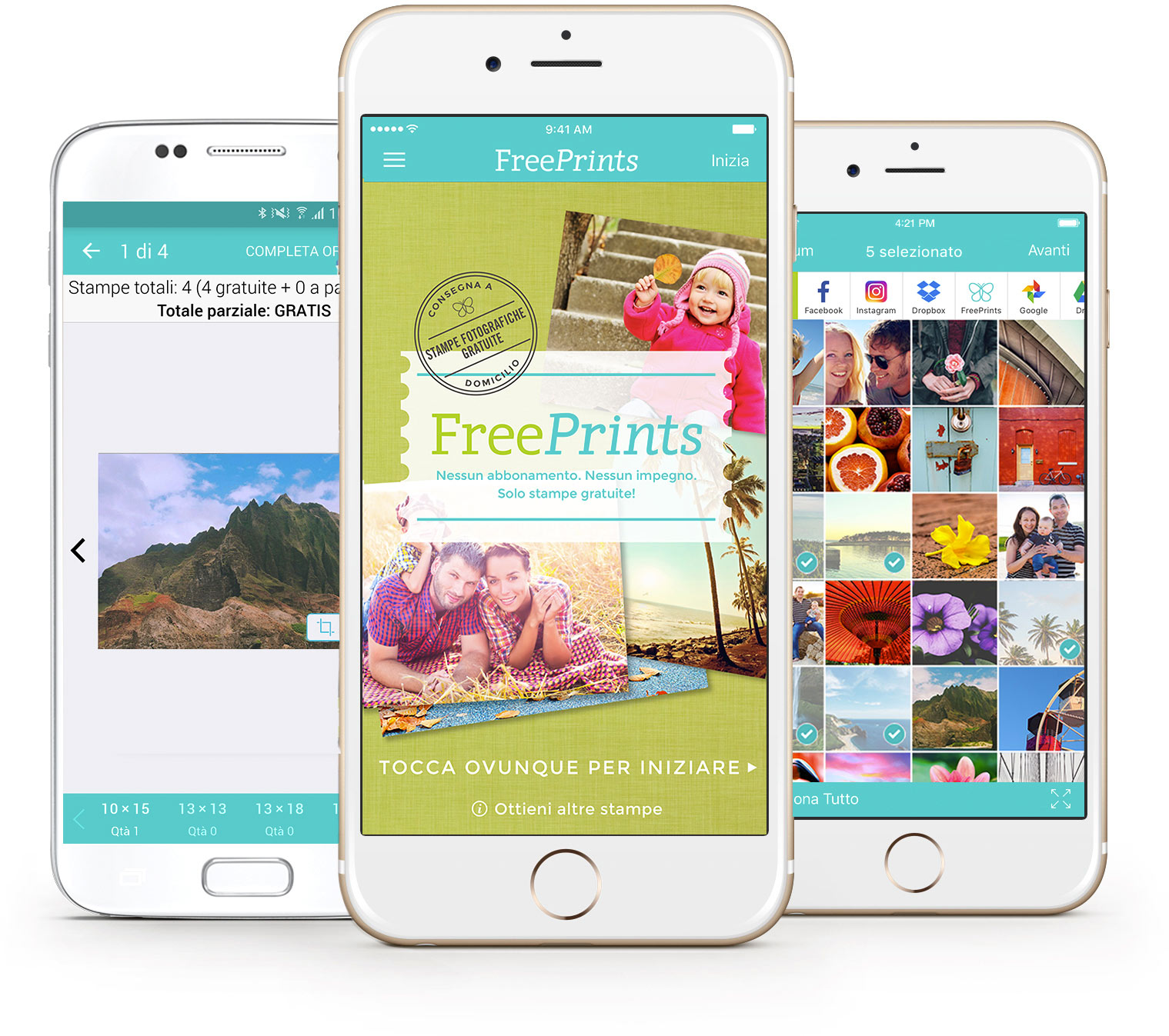 FreePrints per iPhone e Android