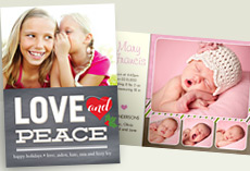 New Designs for Holiday Photo Cards