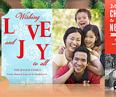 Browse Happy Holidays Photo Cards