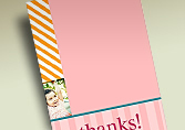 Kids Thank You Cards